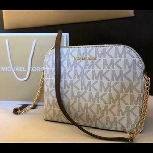 $168 Michael Kors Cindy CrossbodyHandbag MK Bag